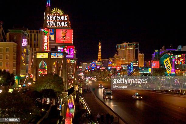South End Of Las Vegas Strip Near New York NY