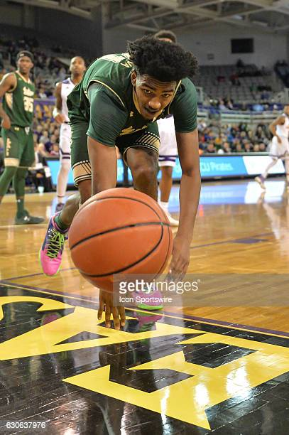 South Florida Bulls forward Tulio Da Silva chases down a loose ball in an American Conference regular season game between the South Florida Bulls and...