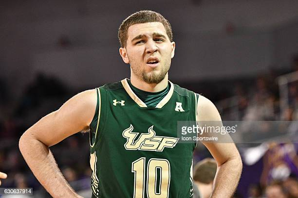 South Florida Bulls guard Michael Bibby comes to the bench in an American Conference regular season game between the South Florida Bulls and East...