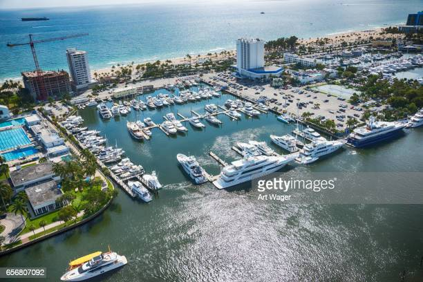South Florida Marina Aerial