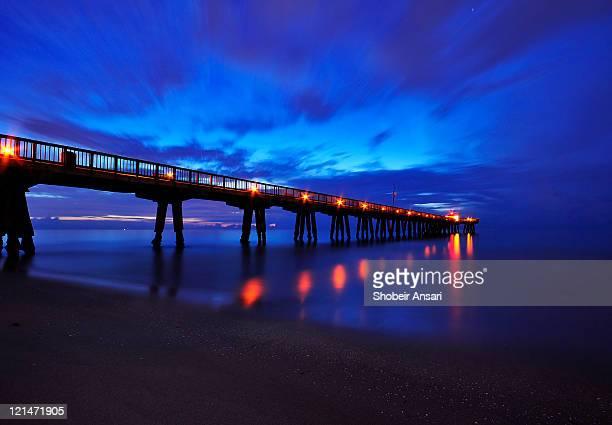 South Florida sunrise and Atlantic Ocean