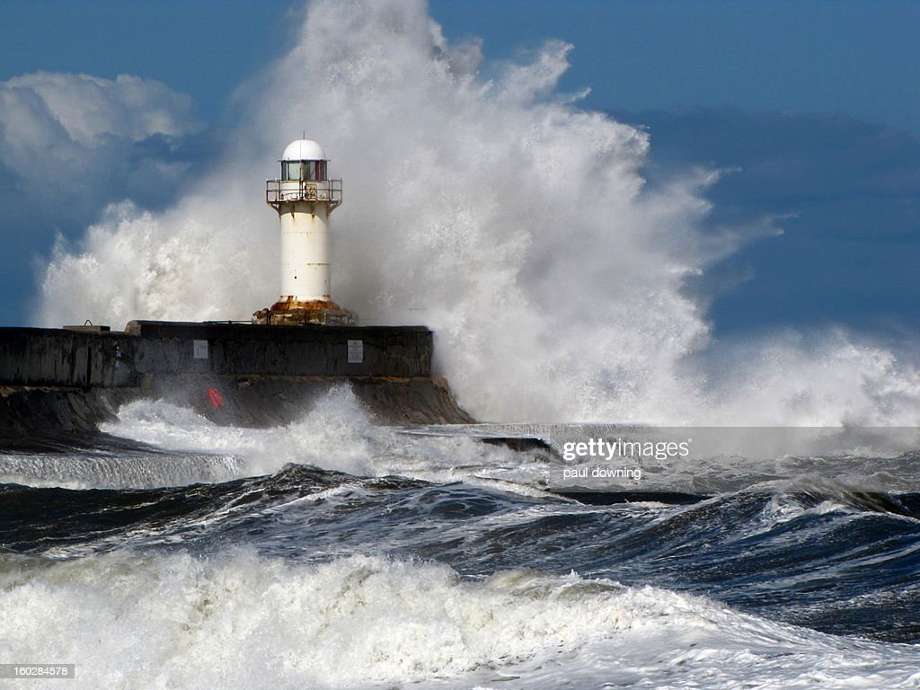 South Gare storm.