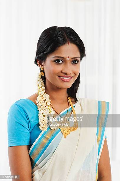 South Indian woman smiling