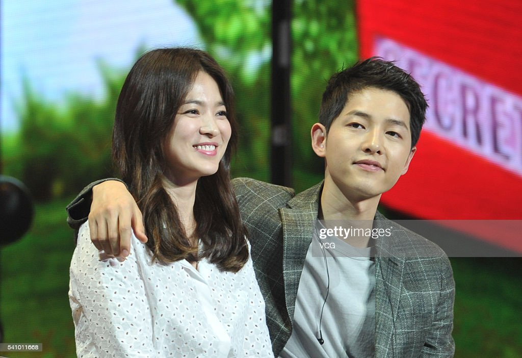 Song Hye Kyo And Song Joong-ki Attend Fan Meeting In Chengdu