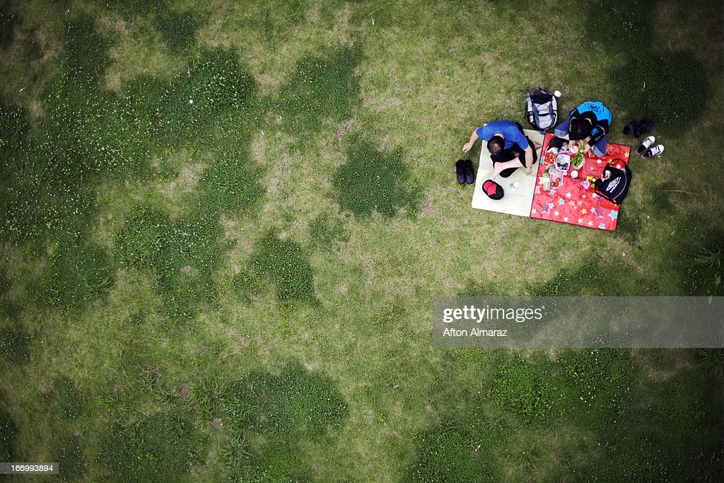 South Korea Picnic : Stock Photo