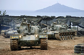 ISLAND South Korea The South Korean military conducts training on Yeonpeyong Island in the Yellow Sea near the disputed western sea border with North...