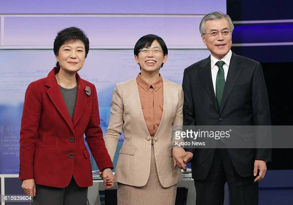 SEOUL South Korea The three candidates for South Korea's Dec 19 presidential election Park Geun Hye of the ruling Saenuri Party Lee Jung Hee of the...