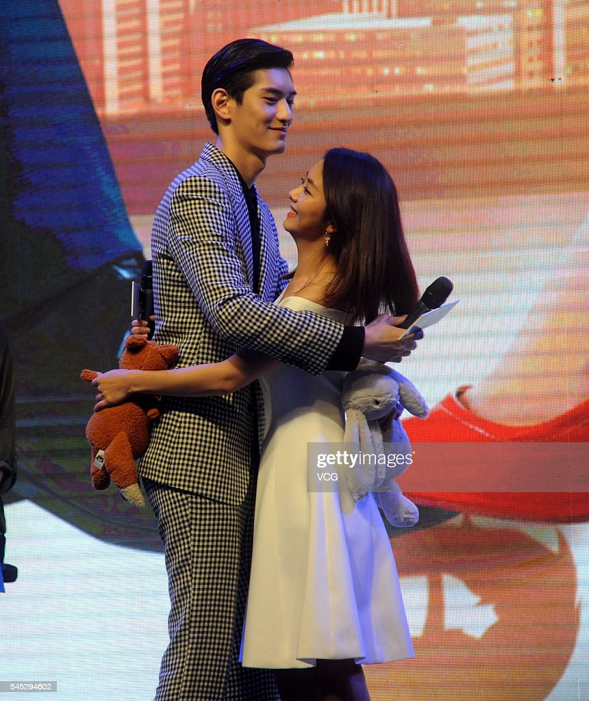 Rain And Pchy Attend Kangxi Pictures Event In Shanghai