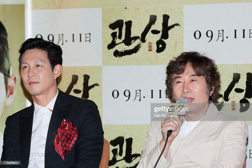 South Korean actor Baek Yoon-Sik attends 'The Face Reader' press screening at the MEGA Box on September 2, 2013 in Seoul, South Korea. The film will open on September 11, in South Korea.