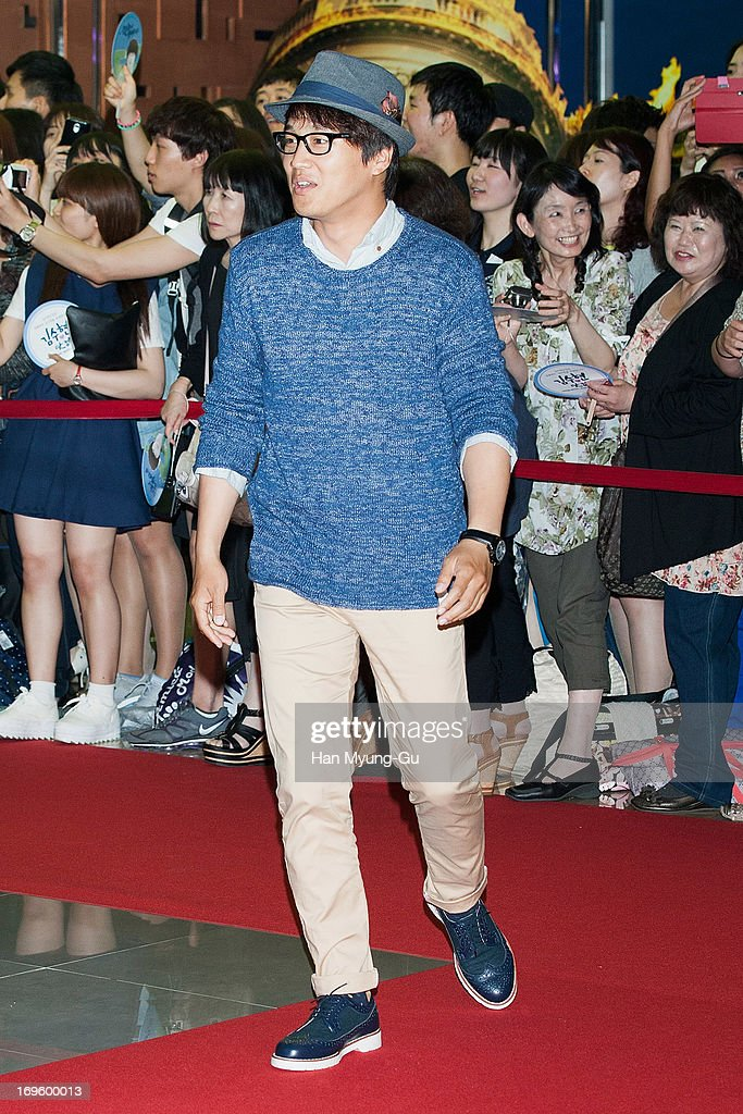 South Korean actor Cha Tae-Hyun attends the 'Secretly Greatly' VIP Screening at Mega Box on May 27, 2013 in Seoul, South Korea. The film will open on June 05 in South Korea.