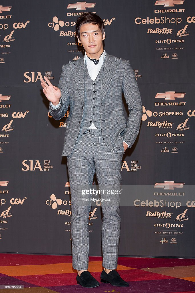 South Korean actor Choi Jin-Hyuk attends 2013 Style Icon Awards at CJ E&M Center on October 24, 2013 in Seoul, South Korea.
