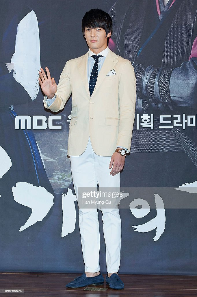 South Korean actor Choi Jin-Hyuk attends the MBC Drama 'Goo Family's Secret' Press Conference at 63 Building on April 2, 2013 in Seoul, South Korea. The drama will open on April 08 in South Korea.