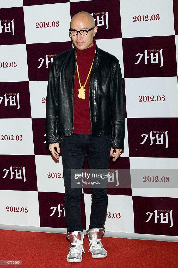 South Korean actor Hong Suk-Cheon attends the 'Gabi' (Coffee) VIP Premiere at CGV on March 06, 2012 in Seoul, South Korea. The film will open on March 15 in South Korea.