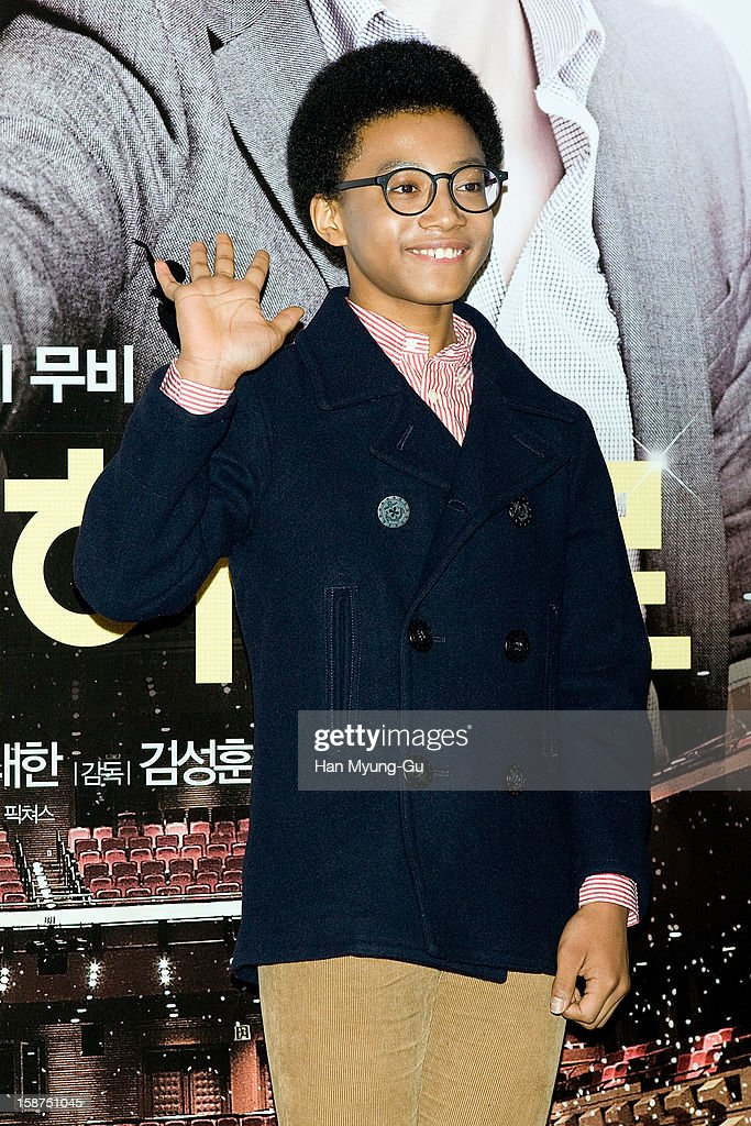 South Korean actor Hwang Yong-Yon attends the 'My Little Hero' press screening at CGV on December 27, 2012 in Seoul, South Korea. The film will open on Janeary 10, 2013 in South Korea.