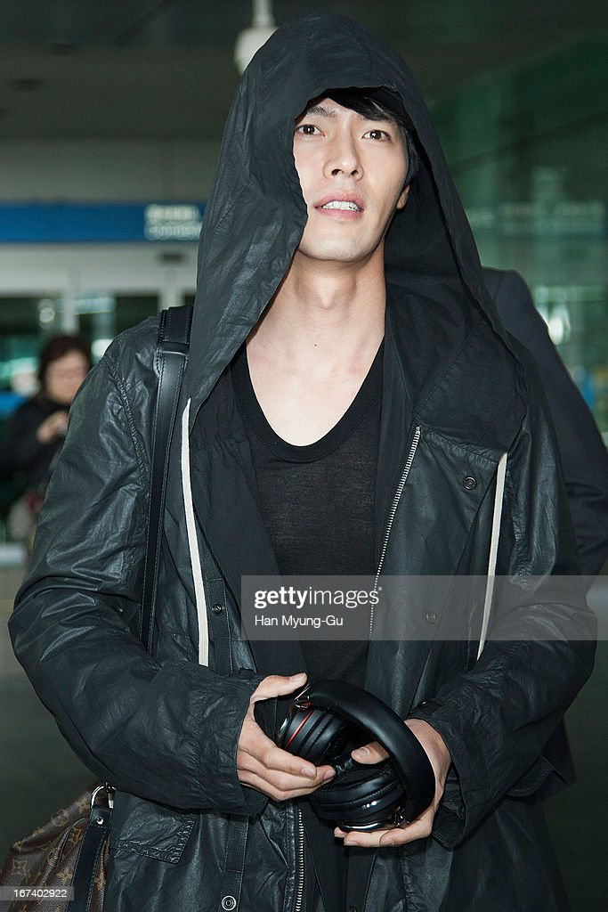 South Korean actor Hyun Bin is seen upon arrival at Incheon International Airport on April 24, 2013 in Incheon, South Korea.