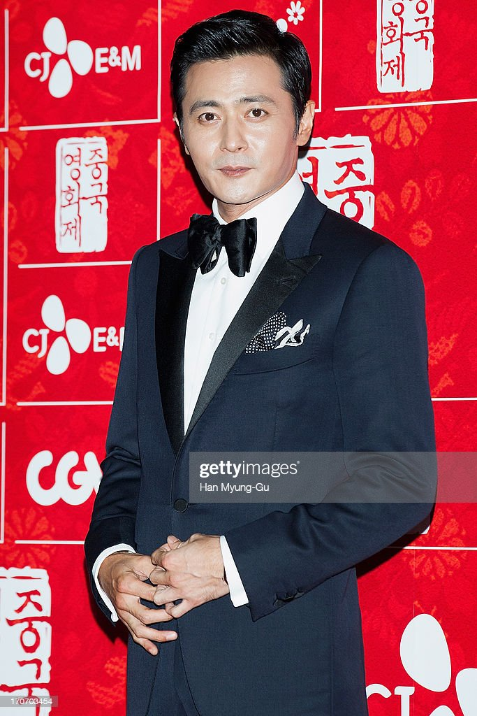 South Korean actor Jang Dong-Gun arrives during the 2013 Chinese Film Festival opening ceremony at Yeouido CGV on June 16, 2013 in Seoul, South Korea. The festival will showcases 11 films and runs from June 16-20 in South Korea.