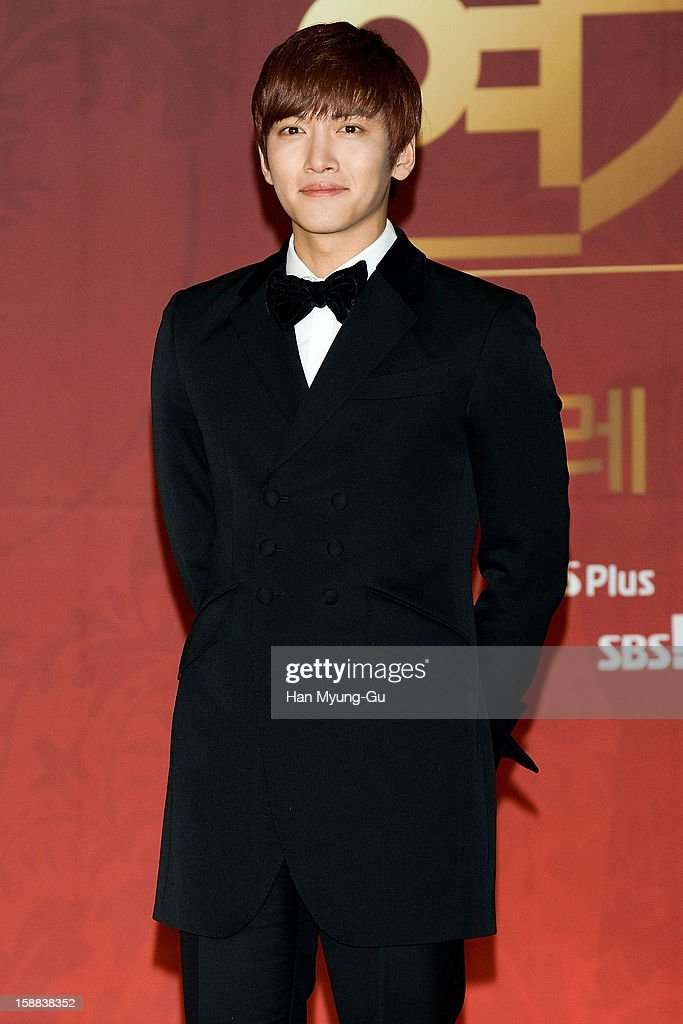 South Korean actor Ji Chang-Wook attends during the 2012 SBS Drama Awards at SBS Prism Tower on December 31, 2012 in Seoul, South Korea.