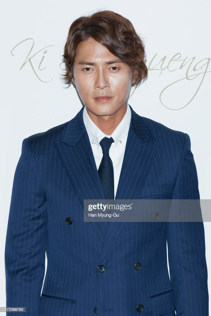 South Korean actor Jo Dong-Hyeok attends during the wedding of Ki Sung-Yueng of Swansea City at COEX Intercontinental Hotel on July 1, 2013 in Seoul, South Korea.