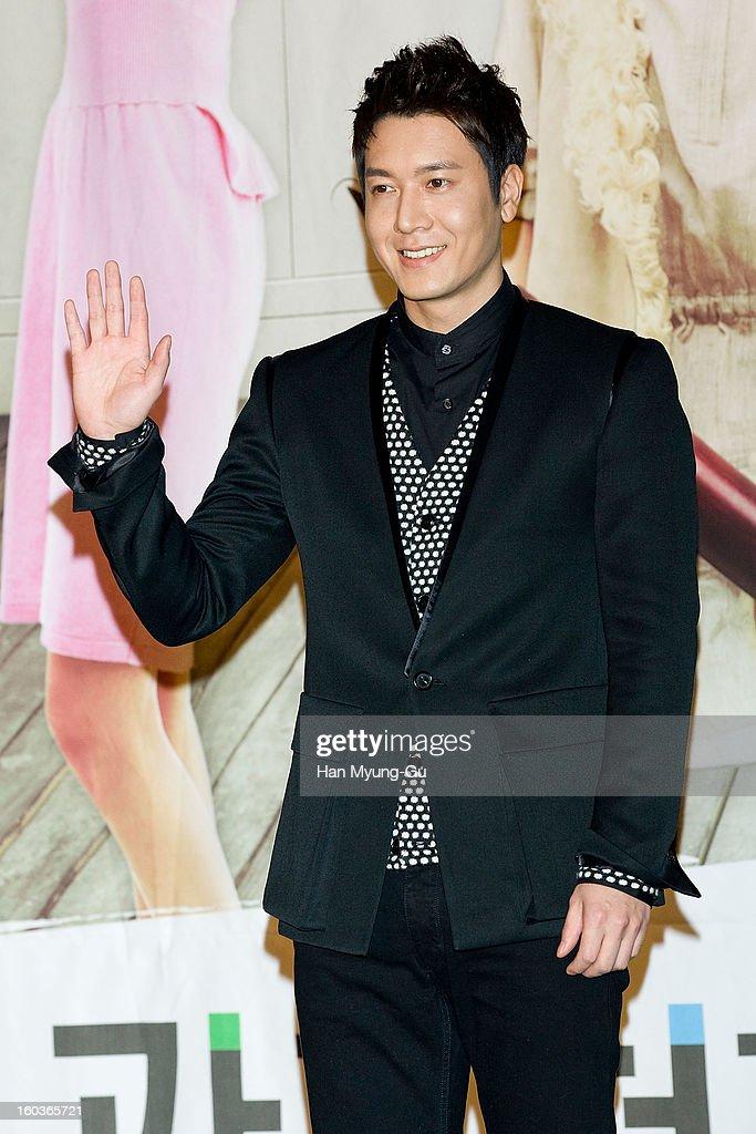 South Korean actor Jo Hyun-Jae attends the KBS2 Drama 'AD Genius Lee Tae-Baek' Press Conference at Conrad Hotel on January 30, 2013 in Seoul, South Korea. The drama will open on February 04 in South Korea.
