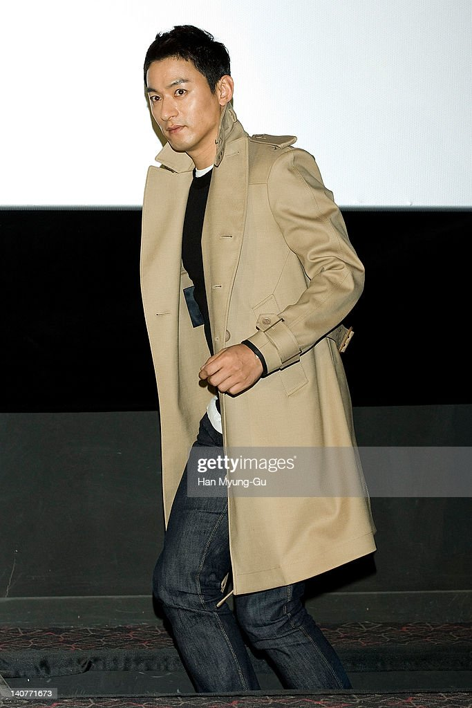 South Korean actor Joo Jin-Mo attends the 'Gabi' (Coffee) Press Screening at CGV on March 06, 2012 in Seoul, South Korea. The film will open on March 15 in South Korea.