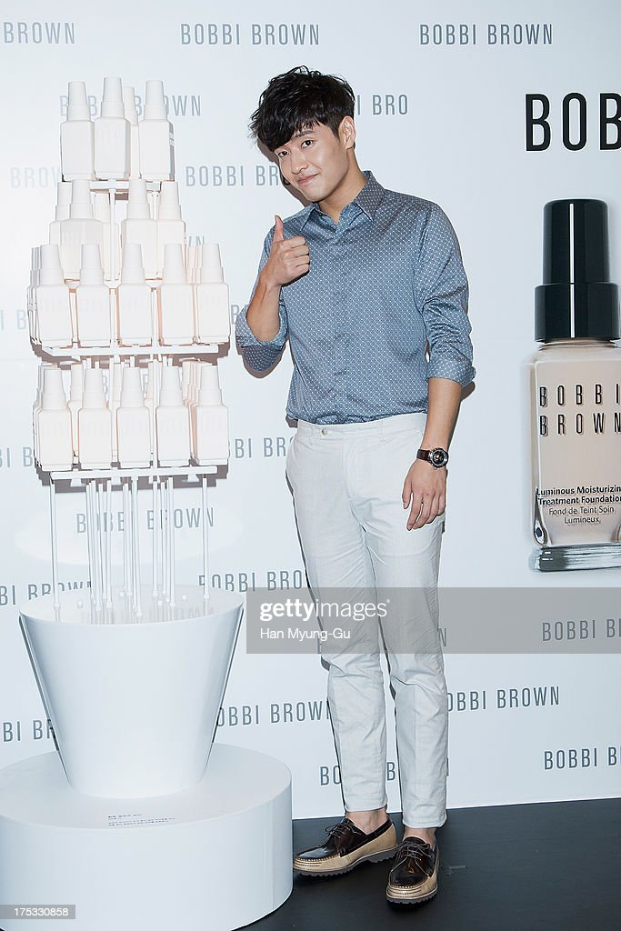 South Korean actor Kang Ha-Neul attends a promotional event for the 'Bobbi Brown' Pop Up Lounge Opening Party on August 2, 2013 in Seoul, South Korea.