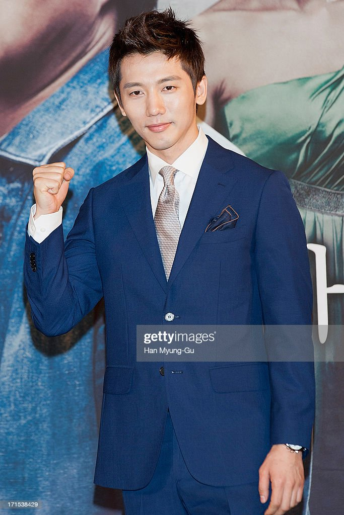 South Korean actor Ki Tae-Young attends during the MBC Drama 'Scandal' Press Conference on June 26, 2013 in Seoul, South Korea. The drama will open on June 29 in South Korea.