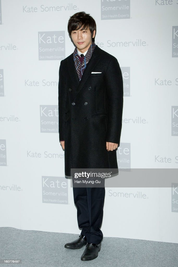 South Korean actor Ki Tae-Young attends the Kate Somerville Skin Care launching at Park Hyatt Hotel on February 5, 2013 in Seoul, South Korea.