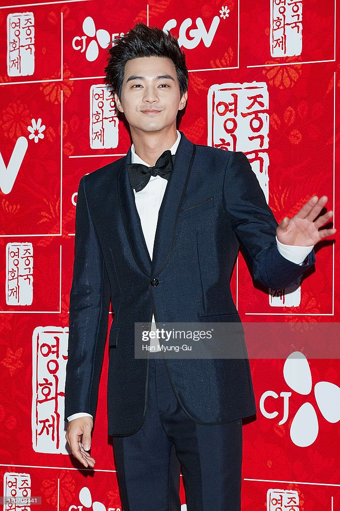 South Korean actor Kim Ji-Hoon arrives during the 2013 Chinese Film Festival opening ceremony at Yeouido CGV on June 16, 2013 in Seoul, South Korea. The festival will showcases 11 films and runs from June 16-20 in South Korea.