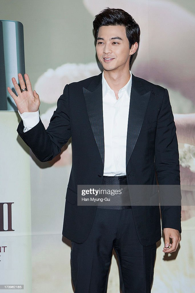 South Korean actor Kim Ji-Hoon attends the SK-II 'Pitera House' Pop Up store opening on July 18, 2013 in Seoul, South Korea.