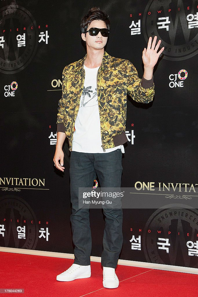 South Korean actor Kim Ji-Hoon attends the 'Snowpiercer' South Korea premiere at Times Square on July 29, 2013 in Seoul, South Korea. The film will open on August 1, in South Korea.