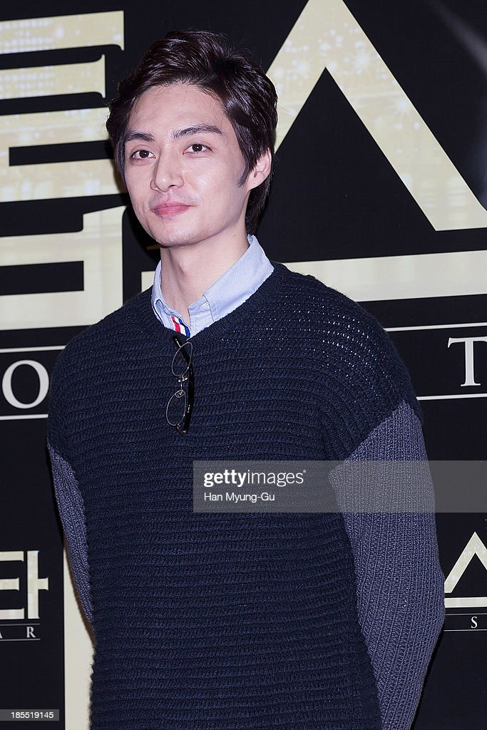 South Korean actor Kim Jun attends the 'TOP Star' VIP Screening at Lotte Cinema on October 21, 2013 in Seoul, South Korea. The film will open on October 24 in South Korea.