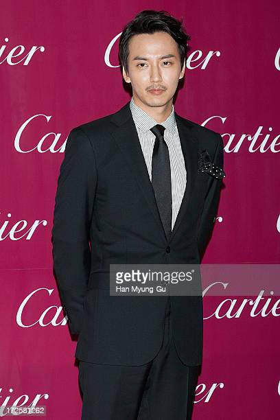 South Korean actor Kim NamGil attends the Cartier Paris Nouvelle Vague launch party at the Walkerhill Hotel on July 3 2013 in Seoul South Korea
