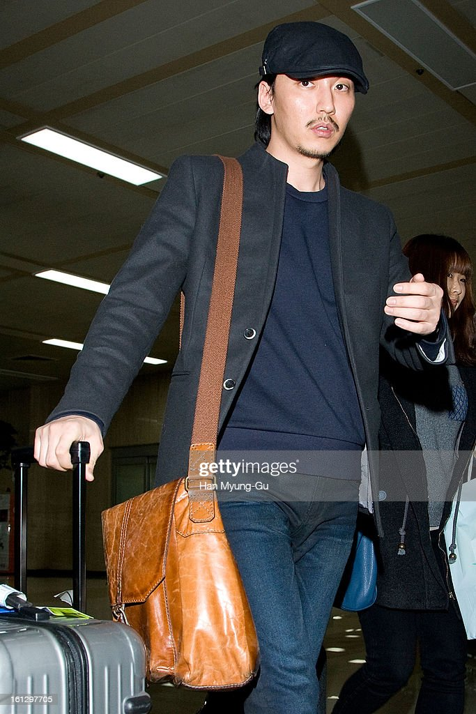 South Korean actor Kim Nam-Gil is seen at Gimpo International Airport on February 9, 2013 in Seoul, South Korea.