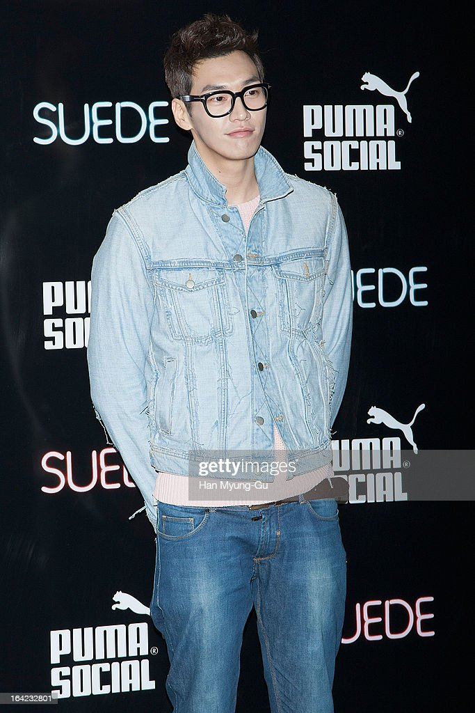 South Korean actor <a gi-track='captionPersonalityLinkClicked' href=/galleries/search?phrase=Kim+Young-Kwang&family=editorial&specificpeople=2150822 ng-click='$event.stopPropagation()'>Kim Young-Kwang</a> attends a promotional event for the 'PUMA Future Suede' Launching Party at Club Keu Keu on March 21, 2013 in Seoul, South Korea.