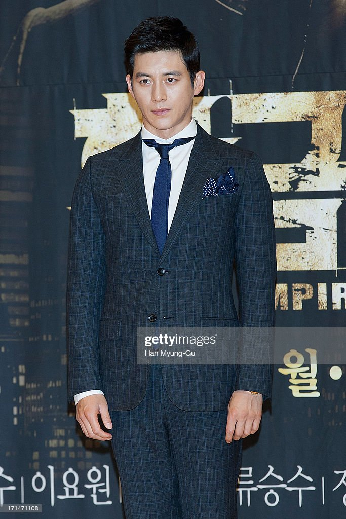 South Korean actor Ko Soo attends during the SBS Drama 'Empire of Gold' press conference on June 25, 2013 in Seoul, South Korea. The drama will open on July 01 in South Korea.