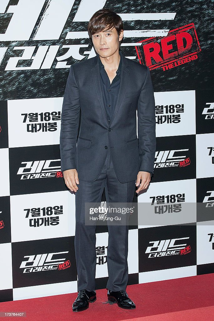 South Korean actor Lee Byung-Hun attends during the 'Red 2' VIP Screening at CGV on July 17, 2013 in Seoul, South Korea. The film will open on July 18, in South Korea.
