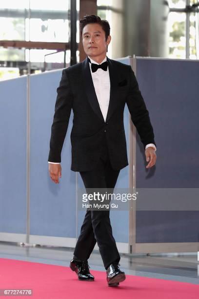 South Korean actor Lee ByungHun attends the 53rd Baeksang Arts Awards at COEX on May 3 2017 in Seoul South Korea