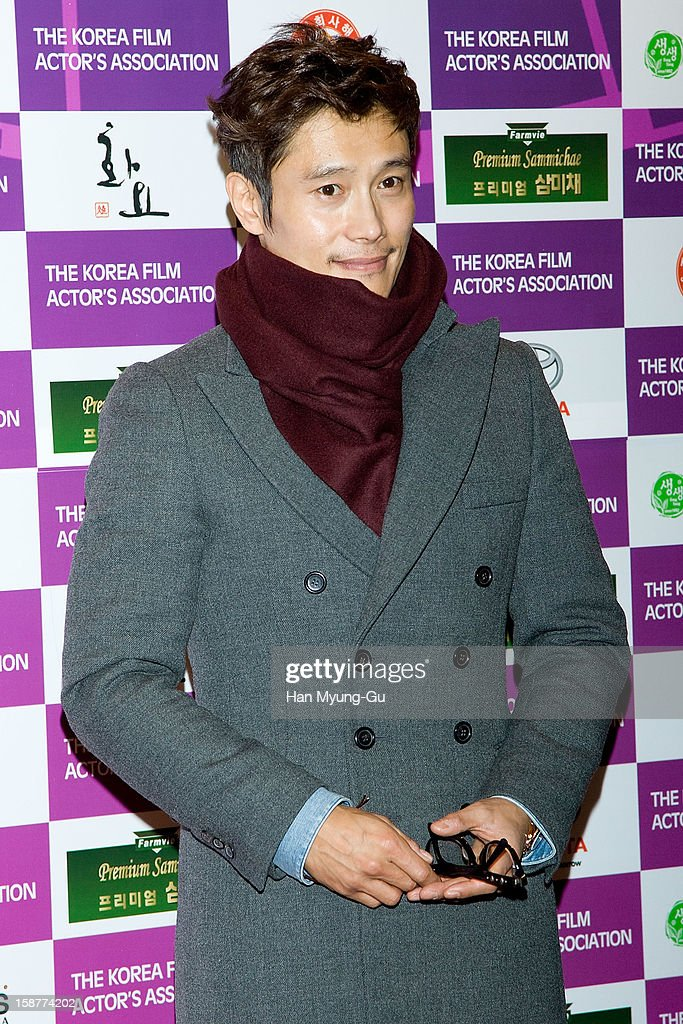 South Korean actor Lee Byung-Hun attends the Year End Party hosted by The Korea Film Actor's Association at Lotte Hotel on December 28, 2012 in Seoul, South Korea.