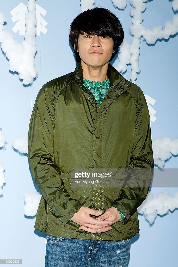 South Korean actor Lee Cheon-Hee (Lee Chun-Hee) attends the 'Kolon Sport' 2013 SS Presentation on January 24, 2013 in Seoul, South Korea.