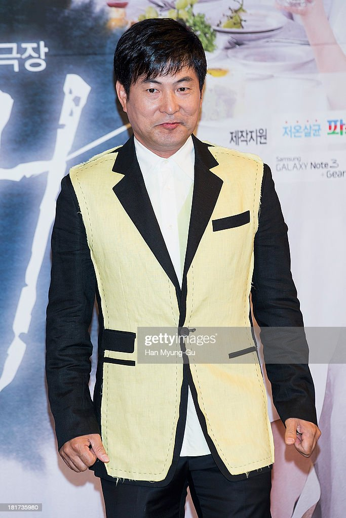 South Korean actor Lee Han-Wie attends SBS Drama 'Hot Love' press conference at 63 building on September 23, 2013 in Seoul, South Korea. The drama will open on September 28, in South Korea.