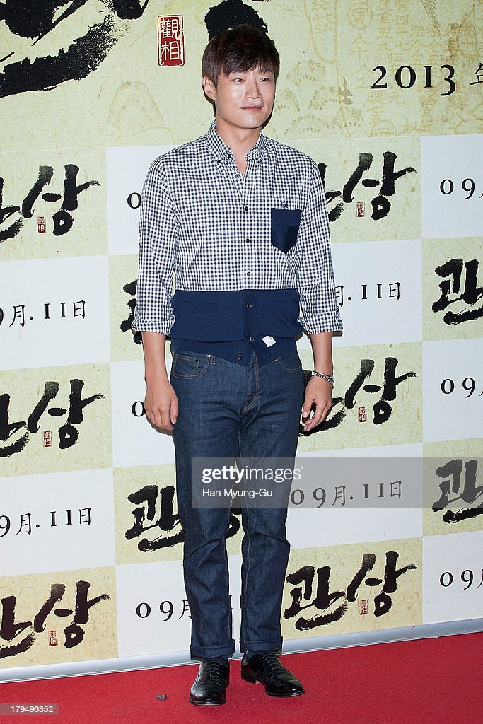 South Korean actor Lee Hee-Jun (Lee Hee-Joon) attends during 'The Face Reader' VIP screening at the CGV on September 4, 2013 in Seoul, South Korea. The film will open on September 11, in South Korea.