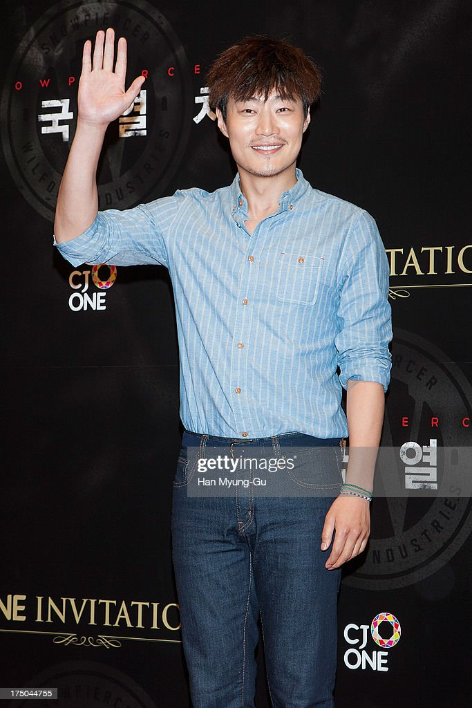 South Korean actor Lee Hee-Jun (Lee Hee-Joon) attends the 'Snowpiercer' South Korea premiere at Times Square on July 29, 2013 in Seoul, South Korea. The film will open on August 1, in South Korea.