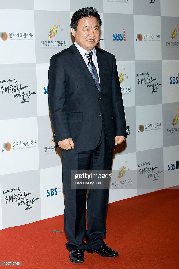 South Korean actor Lee Hyo-Jung attends during the 2012 Korea Popular Culture Art Awards at Olympic Hall on November 19, 2012 in Seoul, South Korea.