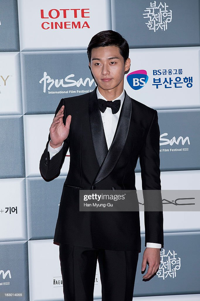 South Korean actor Lee Ji-Hoon attends the opening ceremony during the 18th Busan International Film Festival on October 3, 2013 in Busan, South Korea. The biggest film festival in Asia showcases 299 films from 70 countries and runs from October 3-12.