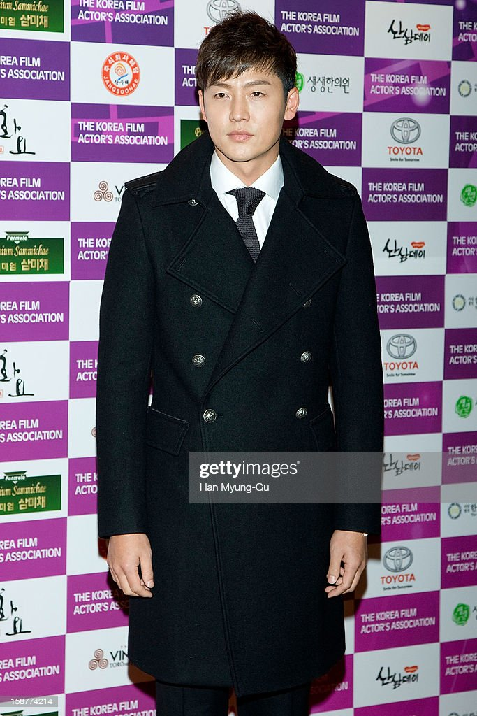 South Korean actor Lee Jung-Jin attends the Year End Party hosted by The Korea Film Actor's Association at Lotte Hotel on December 28, 2012 in Seoul, South Korea.