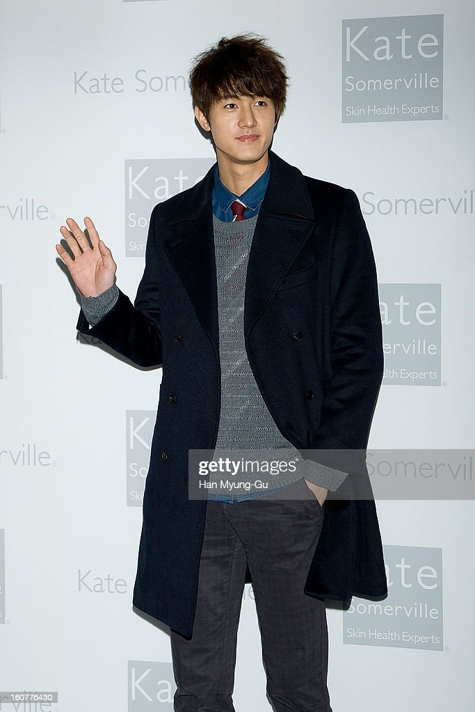 South Korean actor Lee Ki-Woo attends the Kate Somerville Skin Care launching at Park Hyatt Hotel on February 5, 2013 in Seoul, South Korea.