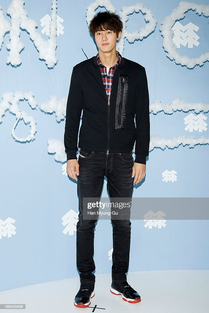 South Korean actor Lee Ki-Woo attends the 'Kolon Sport' 2013 SS Presentation on January 24, 2013 in Seoul, South Korea.
