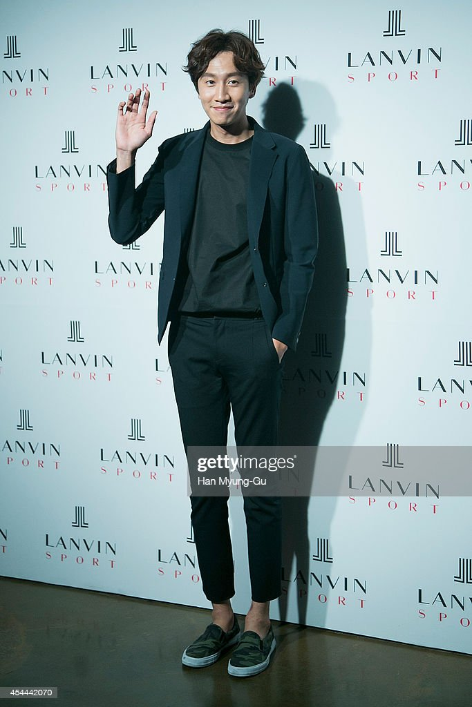 South Korean actor Lee Kwang-Soo attends 'Lanvin Sport' FW 2014 Grand Open on August 29, 2014 in Seoul, South Korea.