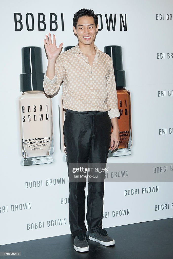 South Korean actor Lee Sun-Ho attends a promotional event for the 'Bobbi Brown' Pop Up Lounge Opening Party on August 2, 2013 in Seoul, South Korea.