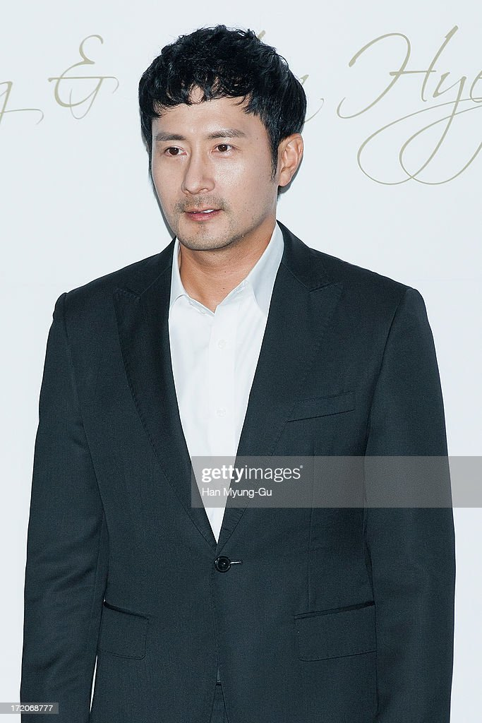 South Korean actor Lim Hyung-Jun attends during the wedding of Ki Sung-Yueng of Swansea City at COEX Intercontinental Hotel on July 1, 2013 in Seoul, South Korea.